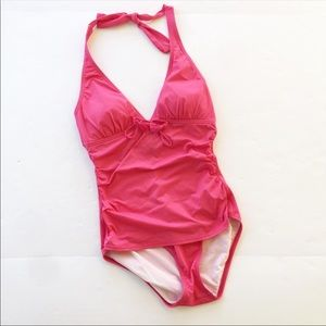 Tommy Bahama | Pink One Piece Swimsuit Size 8